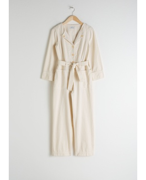 40d9e204153b Organic Cotton Workwear Boilersuit by   Other Stories