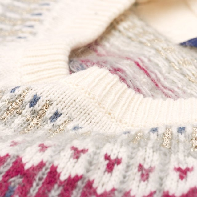 Fairisle Crew Sweater | Endource
