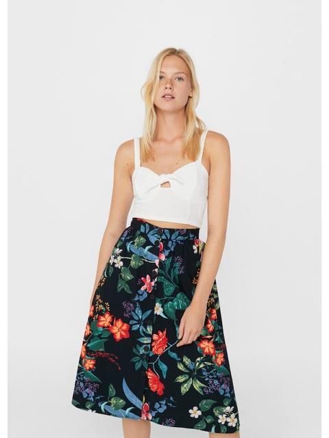 86a9d39d0 Floral Midi Skirt | Endource
