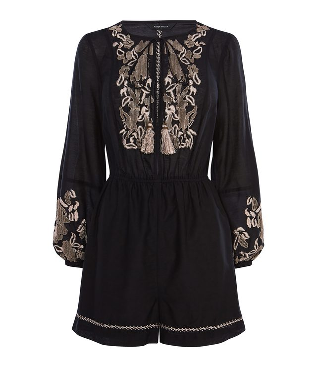 cd871e30cff Embroidered Playsuit