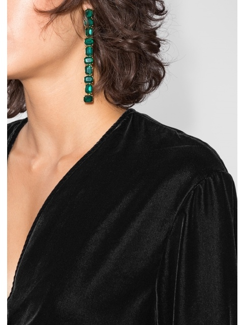 686aeea3629e Velvet Wrap Dress