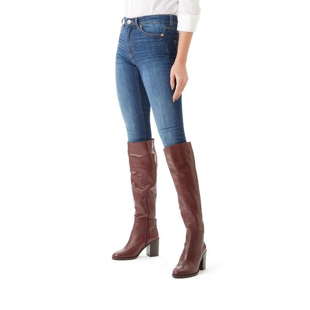 Dora Knee Boots