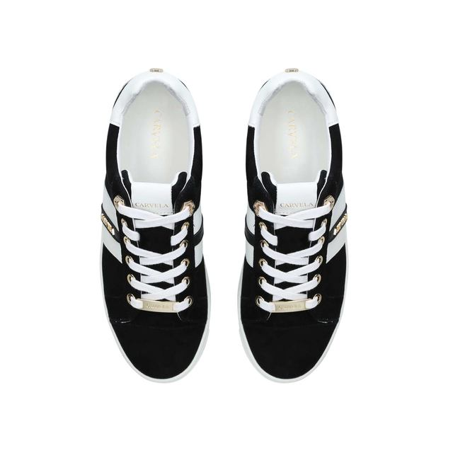 3c90405f6db08 Lisa Suede Low Top Trainers | Endource