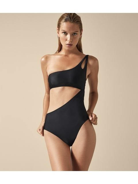 0059a6bad7 Charlize Asymmetric Swimsuit | Endource
