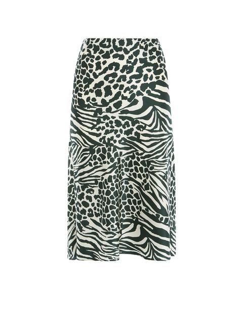 39697786668 Animal Print Midi Skirt | Endource
