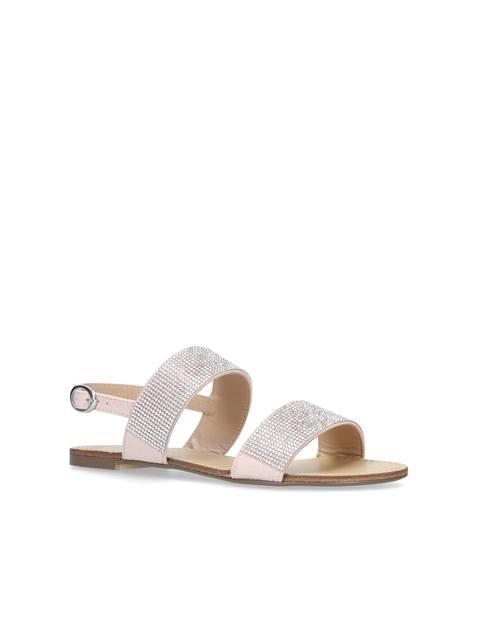 454224a9381 Beauty Embellished Flat Sandals