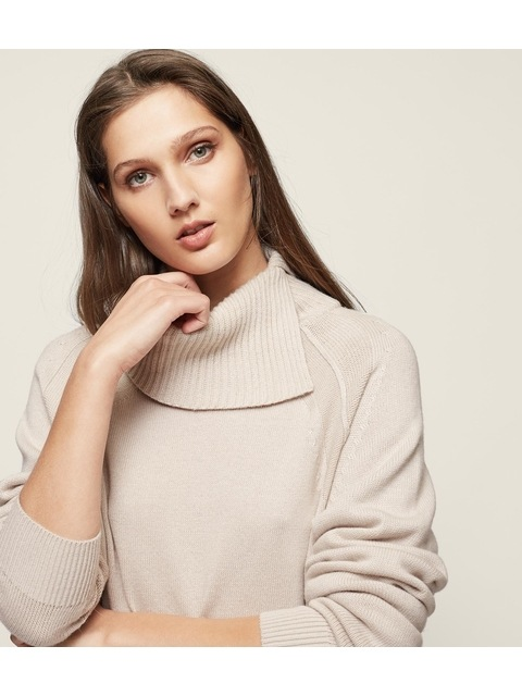 3b01faf0f42fd0 Adele Roll-Neck Jumper