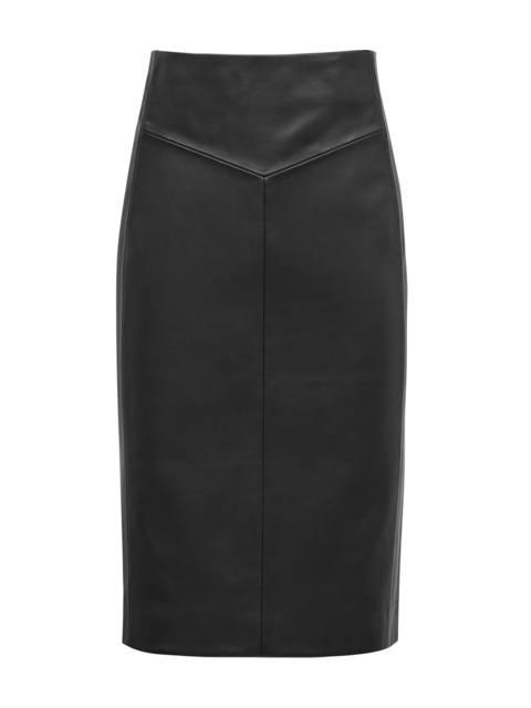 465c506ce9 Megan Leather Pencil Skirt