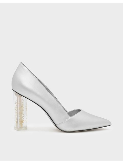 f44ed6c9382 Lucite High Heel Shoes - Style Guru  Fashion