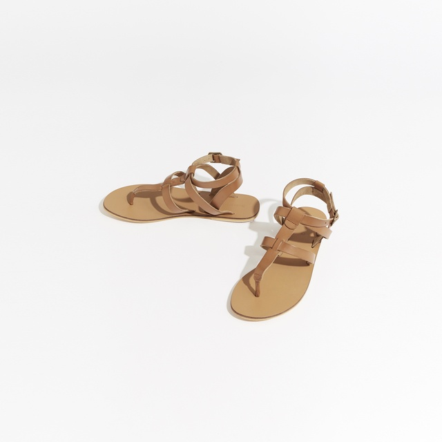 Warehouse Leather Toe Post T-Bar Sandals free shipping clearance QAP4rTExcY