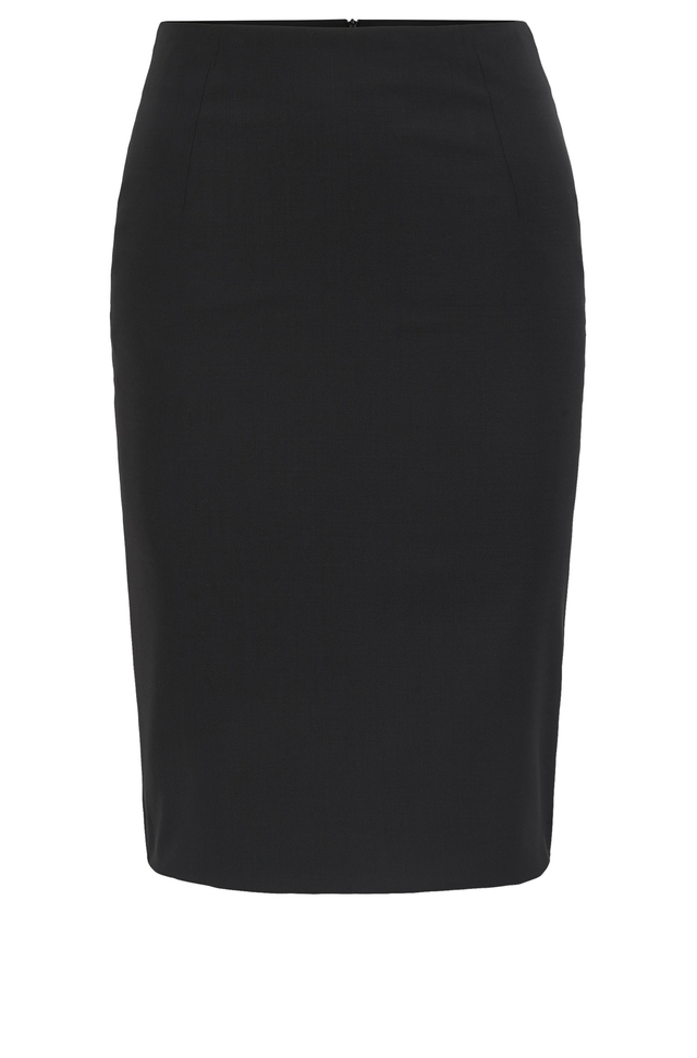 stretch wool pencil skirt endource