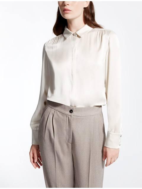 d4d83c4a9d9e1b Silk Satin Shirt