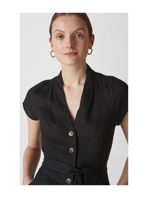 d10fac85f1 Sana Linen Button Jumpsuit