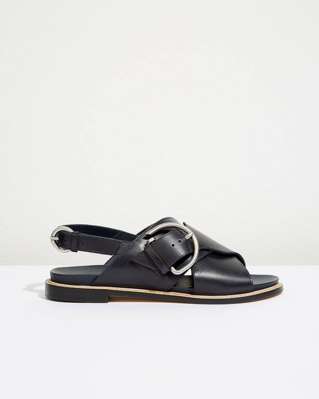 Beaufort Buckle Footbed Sandals Jigsaw