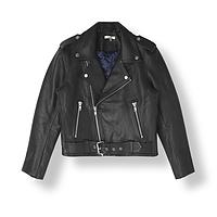 Particular Ganni angela leather biker jacket Top Quality Cheap Sale Eastbay Discount Best Sale Comfortable GpfzRNtt