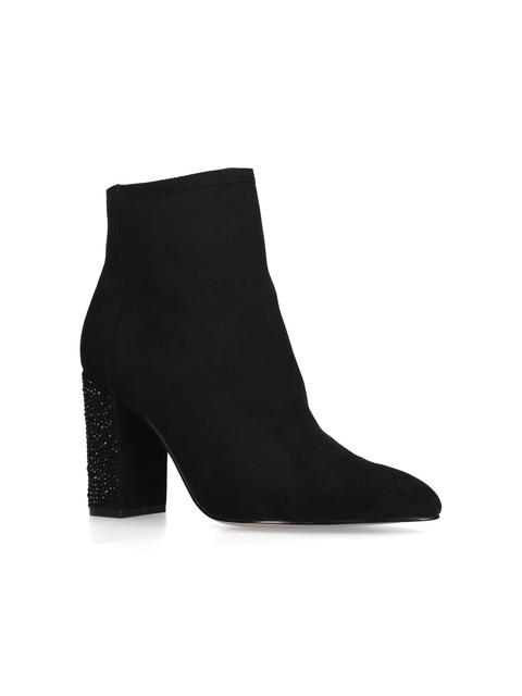 0349acb6304 Spark Embellished Block Heeled Boots
