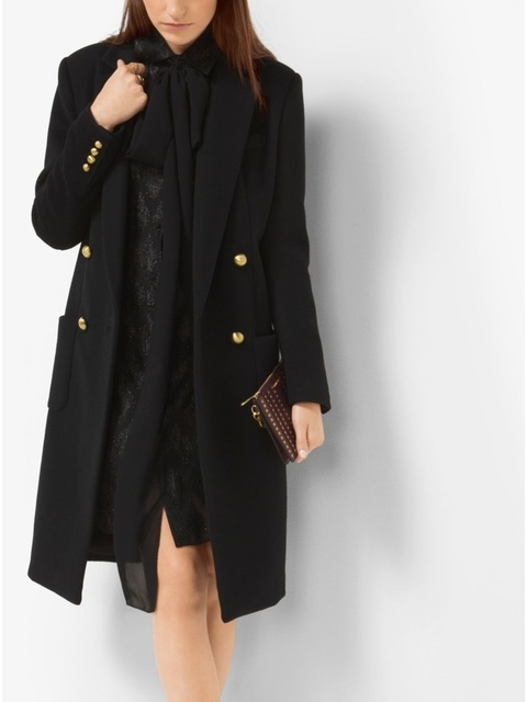 ac511cc525 Double-Breasted Wool Coat