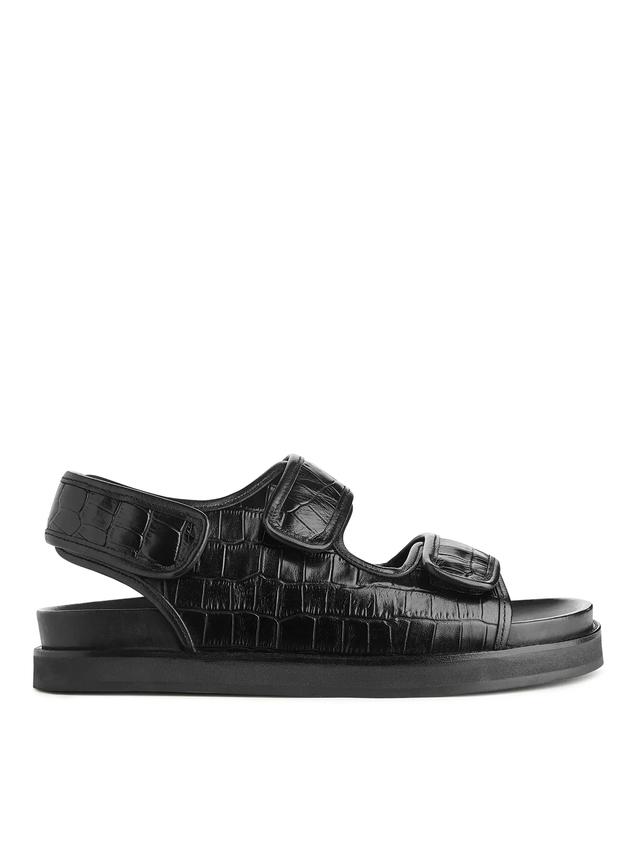 Chunky Leather Sandal   Endource