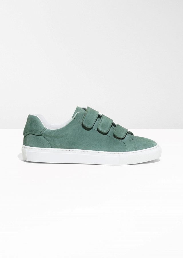 & OTHER STORIES Duo Scratch Strap Sneakers