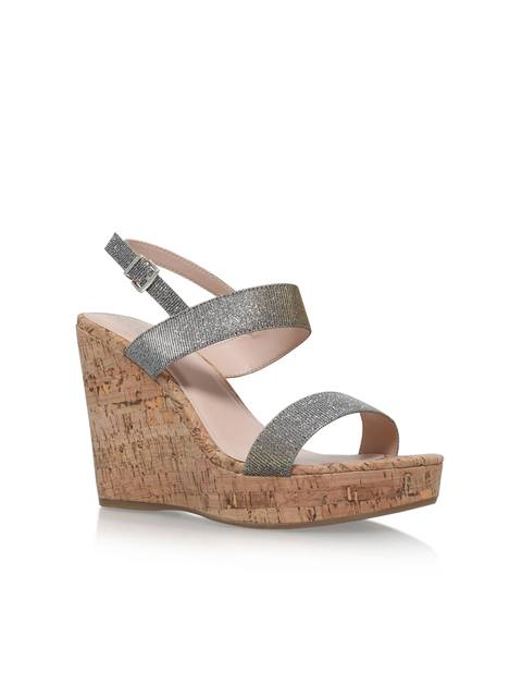 aa1f5ead62d Kay Metallic Wedge Sandals