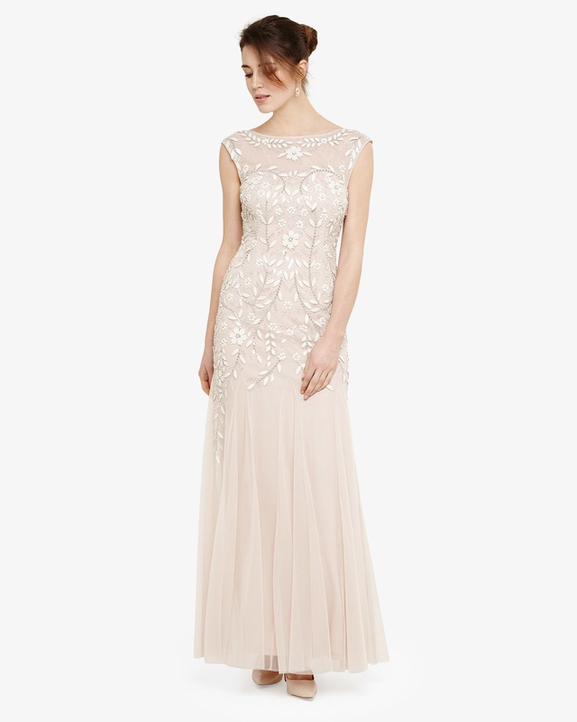 Sabine Beaded Maxi Dress Endource