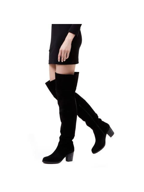 c5c39474dd3 Skylar Mid Heel Over The Knee Boots