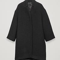 5c594a13f994 Boucle-Wool Cocoon Coat
