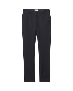 GANT Slim Fit Stretch Tapered Trousers - Black GANT