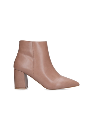 1763aa27665 Sleek Block Heeled Ankle Boots by Carvela