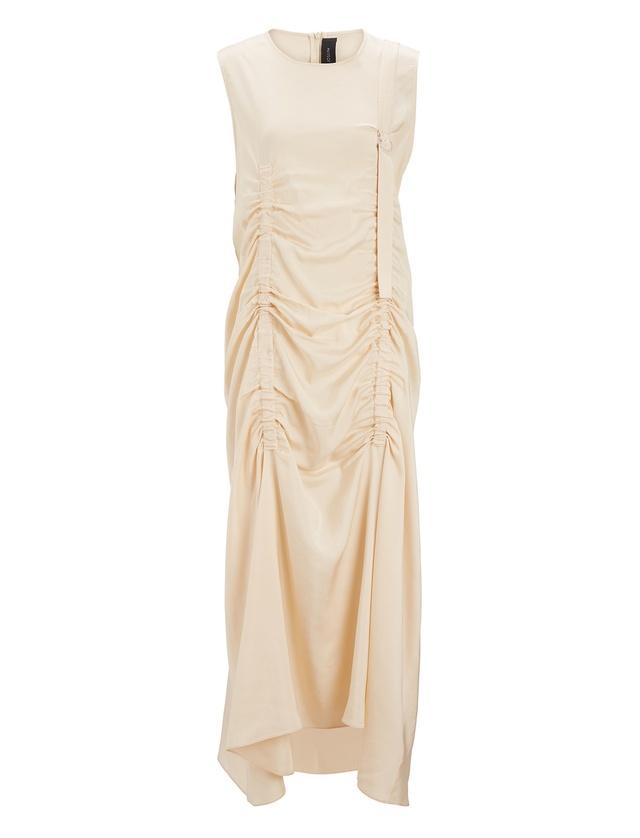Hall ruched-detail sleeveless dress Joseph lvdXoq0e