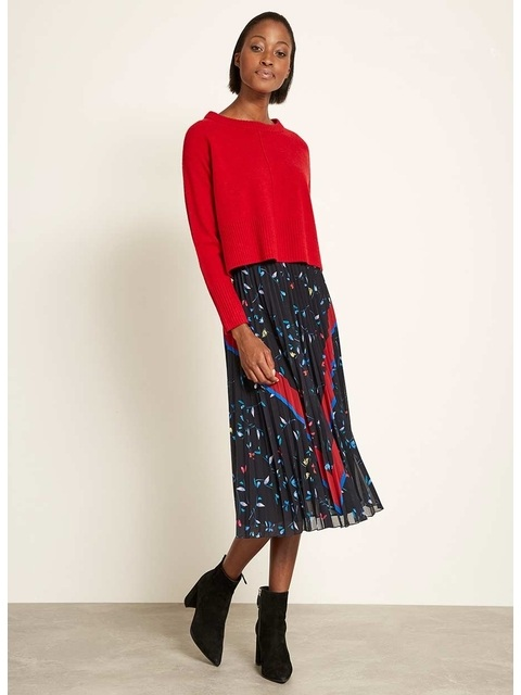 b25d678bba Harlow Print Pleated Skirt | Endource