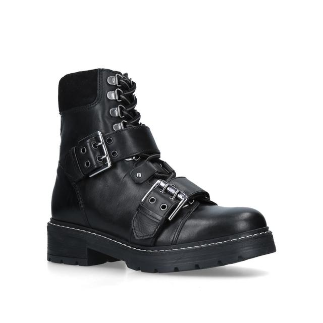 0f59b2fc8ba Saunter Leather Biker Boots