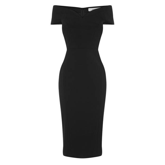 Jessa Bardot Shift Dress Endource