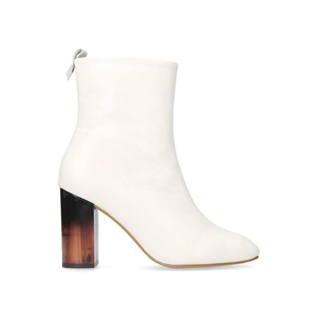 Strut Mid Heel Calf Boots | Endource