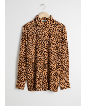 cd5e28f74a2d Leopard Print Button Down Shirt by & Other Stories