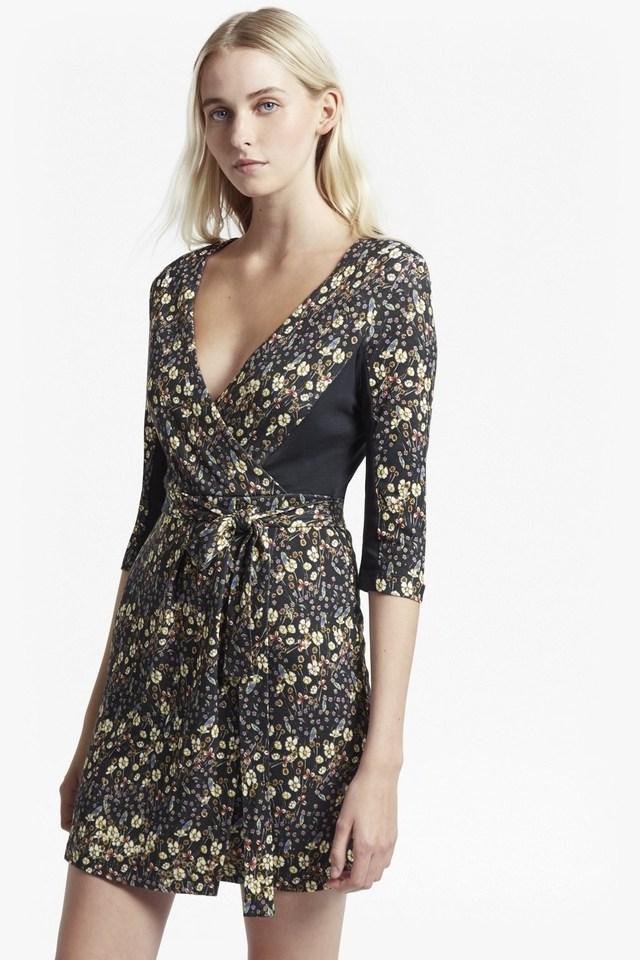 7b1d54ba2b9c7 Hallie Print Jersey Wrap Dress | Endource