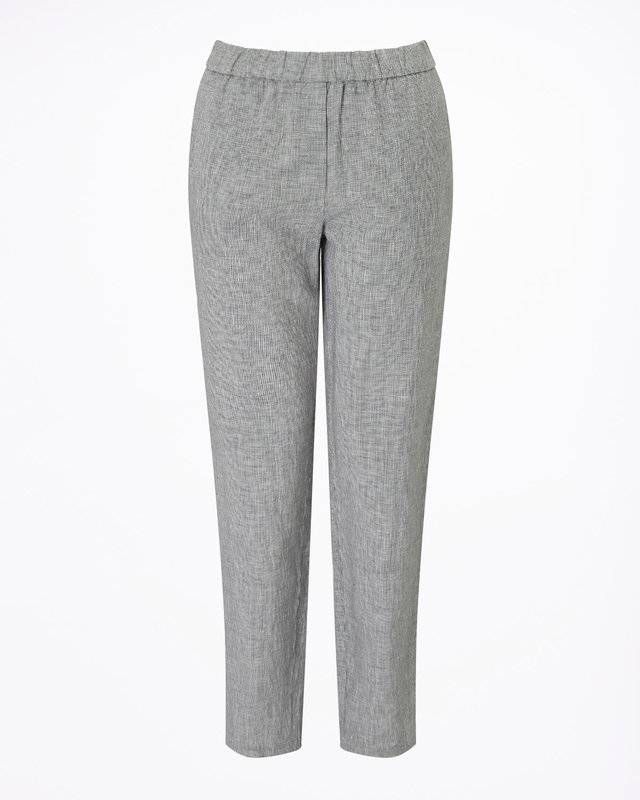 Weave Linen Relaxed Trousers Jigsaw