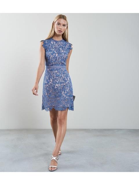 785929a6a2c Maika Open-Back Lace Dress