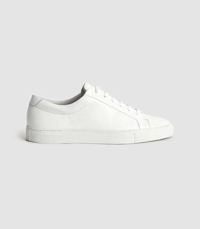 Darren Tumbled Leather Sneakers | Endource