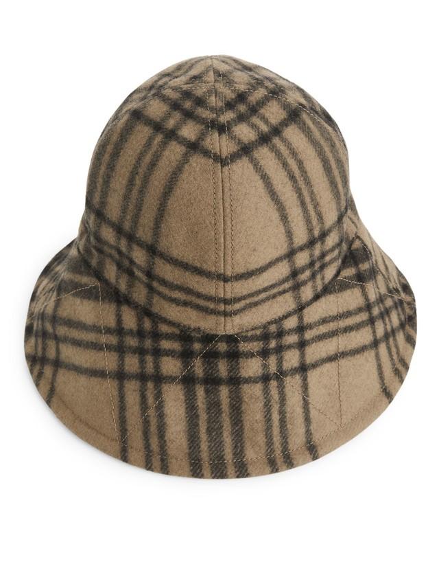 5a73f24bd56bd ... cheap wool check bucket hat 2f97c 00200