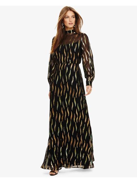 df886ec35a594 Penny Shimmer Silk Maxi Dress