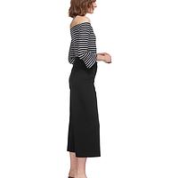 ca342d906f31b Ponte Wide Leg Crop Trousers