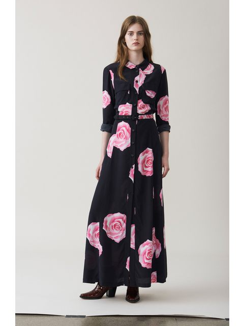 0ddf3838 Fayette Silk Maxi Dress | Endource