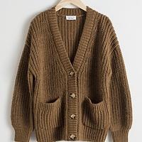 6b1fe7ba7 Oversized Rib Knit Cardigan