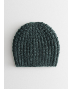 ff330706906 Cable Rib Knit Beanie by   Other Stories