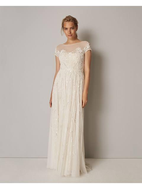 03d0bae5eb350 Phase Eight. Liliana Embellished Wedding Dress Endource