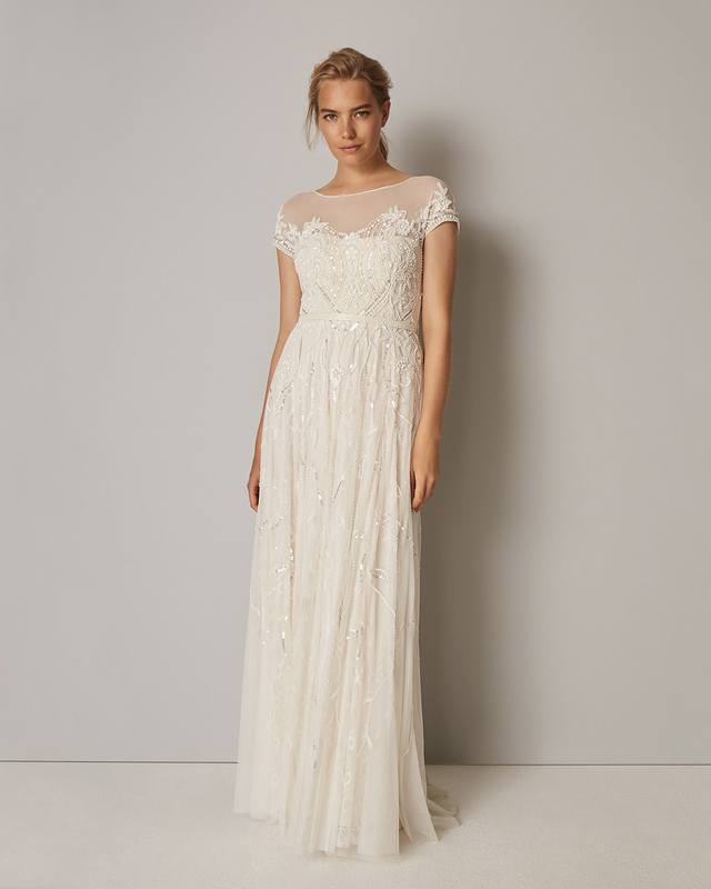 Liliana Embellished Wedding Dress | Endource