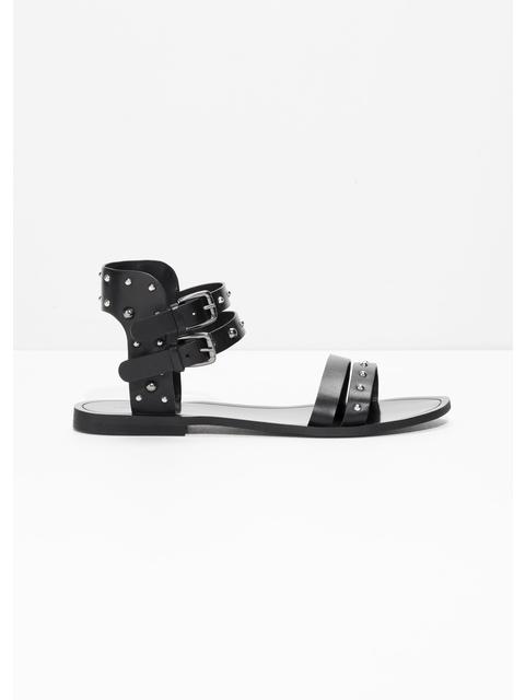 9e358133571 Studded Buckle Sandals