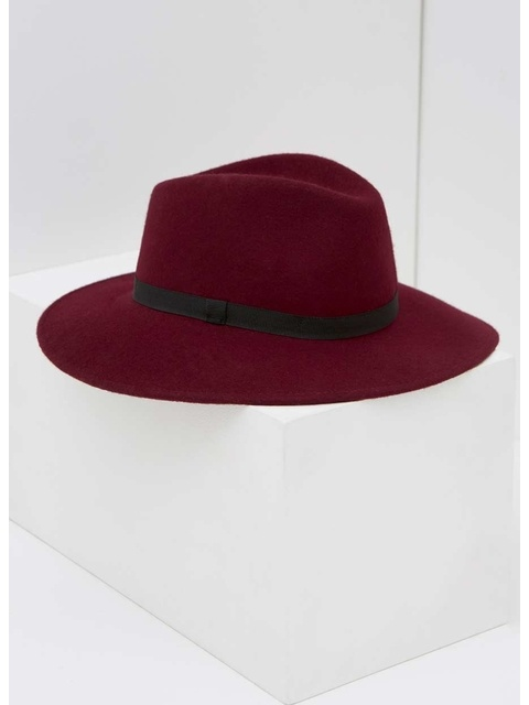 Wide Brim Fedora Hat  7f6b9e3624b
