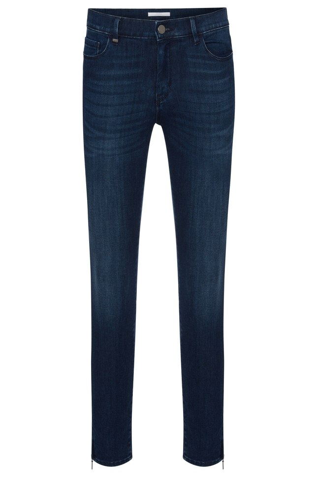 nafice zip slim fit jeans endource. Black Bedroom Furniture Sets. Home Design Ideas